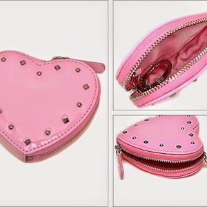 NWT COACH F68068 Pink Liquid Gloss Coin Purse
